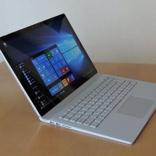 マイクロソフト(Microsoft)の【美品】Surface book2/15インチ/Office,ペン,マウス付き(ノートPC)