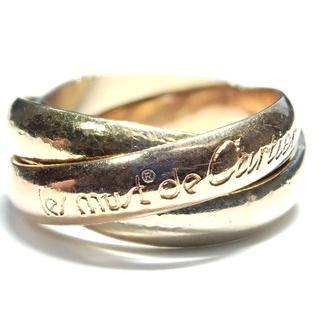 カルティエ(Cartier)の256. カルティエ トリニティリング スリーカラー 3連 #48(リング(指輪))