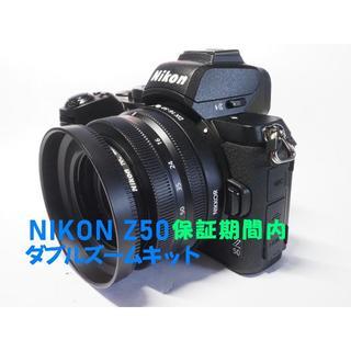Nikon - 【保証期間内】NIKON Z50 ダブルズームキット美品