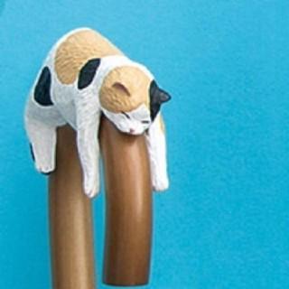 FELISSIMO - そこで寝ちゃうの? だら~ん猫の傘タグ