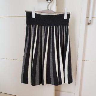 ドゥドゥ(DouDou)のDouDou ニットスカート(ひざ丈スカート)