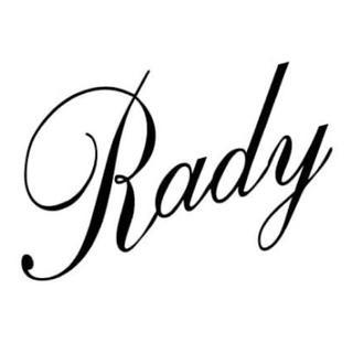 レディー(Rady)の車ステッカー【Rady】M(車外アクセサリ)