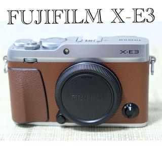 富士フイルム - FUJIFILM 富士フイルムX-E3ボディ ブラウン