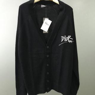 Dior - Dior x stussyセーターのカーディガン