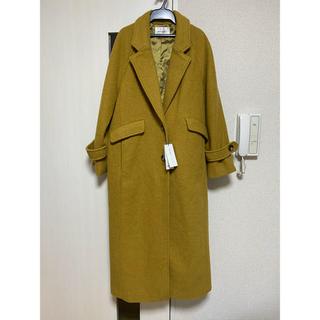 マウジー(moussy)のコート・ロングコート・moussy・カラシ色・チェスターコート(ロングコート)