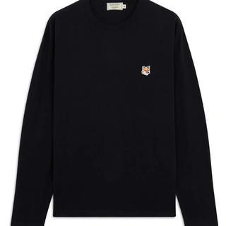 メゾンキツネ(MAISON KITSUNE')のメゾンキツネ  長袖 Tシャツ(Tシャツ/カットソー(半袖/袖なし))