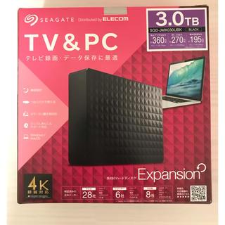 SGD-JMX030UBK 3TB 外付けハードディスク 新品未開封