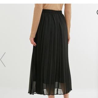GU - GU プリーツ ロング スカート