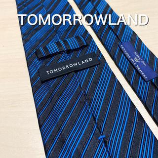 トゥモローランド(TOMORROWLAND)のTOMORROWLAND × VANNERS ブルーグラデーション ネクタイ(ネクタイ)