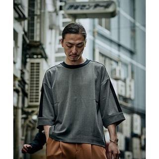 ハレ(HARE)のLui's(ルイス) キュプラデニムラインプルオーバー(Tシャツ/カットソー(半袖/袖なし))