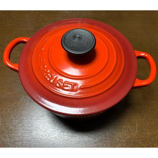 ルクルーゼ(LE CREUSET)の美品 ルクルーゼ ココットロンド 16cm(鍋/フライパン)