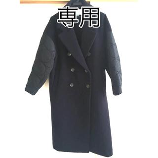 エンフォルド(ENFOLD)の【SHOKO様専用】ENFOLD フェザーリーバー ロングPコート サイズ36(ロングコート)