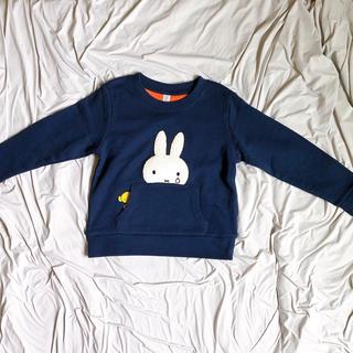 Design Tshirts Store graniph - 【新品】ミッフィー トレーナー なみだ 110cm グラニフ