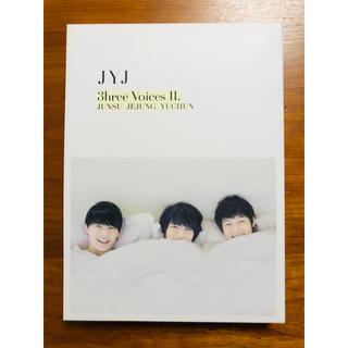 ジェイワイジェイ(JYJ)のJYJ 3hree Voices Ⅱ. (DVD)(韓国/アジア映画)
