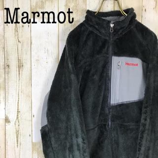 マーモット(MARMOT)のMarmot マーモット フリース ストレッチ切り替え ワンポイント刺繍ロゴ(ブルゾン)