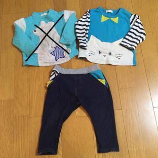ナルミヤ インターナショナル(NARUMIYA INTERNATIONAL)のベイビーチアー 90 まとめ売り(Tシャツ/カットソー)