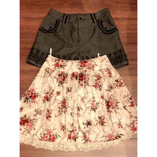 アクシーズファム(axes femme)のスカート、ショーパンセット福袋(ミニスカート)