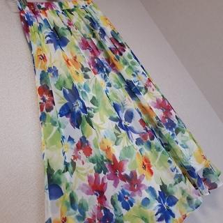 tocco - tocco closet 花柄ロングスカート