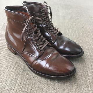 Alden - オールデン シガー ブーツ プレーントゥ マンソンブーツ 7D レアカラー