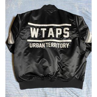 W)taps - 【超美品】wtaps team jacket 18aw Lサイズ ブラック