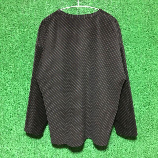 HARE(ハレ)のLui's ベロア バイアス プルオーバー ビッグシルエット メンズのトップス(Tシャツ/カットソー(七分/長袖))の商品写真