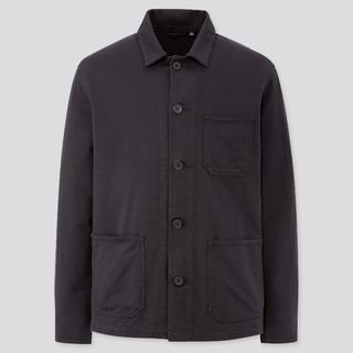 UNIQLO - UNIQLO/ユニクロ ウォッシュジャージーワークジャケット