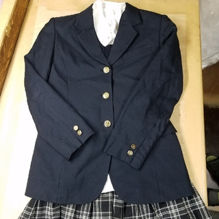 コスプレ 制服 ブレザー セット 高校 カーディガン スカート ブラウス(衣装)