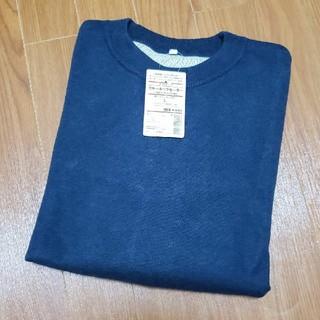 ムジルシリョウヒン(MUJI (無印良品))の無印良品 ダブルフェイスクルーネックセーター L(ニット/セーター)