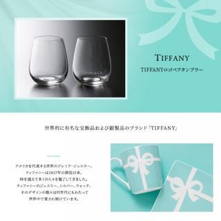 Tiffany & Co. - ティファニー TIFFANY&Co タンブラー ロゴ ペア 2点セット