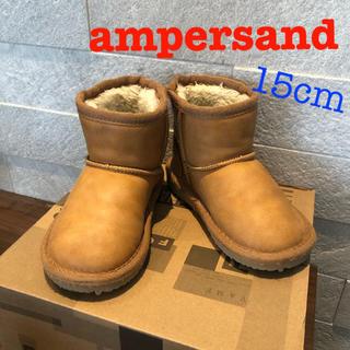 ampersand - ampersandムートンブーツ15cm