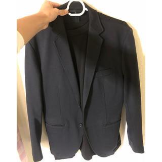 ムジルシリョウヒン(MUJI (無印良品))の【無印】 テーラードジャケット Sサイズ(テーラードジャケット)