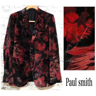 ポールスミス(Paul Smith)の【未使用】Paul Smith ポールスミス ベロア テーラード ジャケット L(テーラードジャケット)