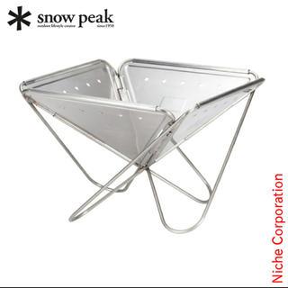 スノーピーク(Snow Peak)の【新品】スノーピーク焚火台L(ストーブ/コンロ)