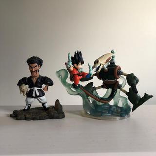 バンダイ(BANDAI)のドラゴンボール フィギュア 悟空 ドクロロボ ミスター サタン ベエ セット (フィギュア)