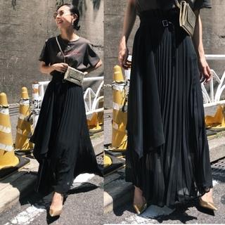 Ameri VINTAGE - Ameri【未使用】ラッププリーツスカート