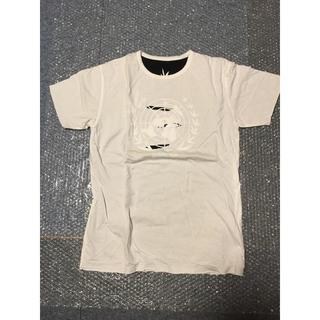 ピーピーエフエム(PPFM)の新品PPFM リバーシブルダメージTシャツ マリファナ柄 フリーサイズ ブラック(Tシャツ/カットソー(半袖/袖なし))