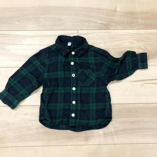 ムジルシリョウヒン(MUJI (無印良品))の無印良品 ネルチェックシャツ(シャツ/カットソー)