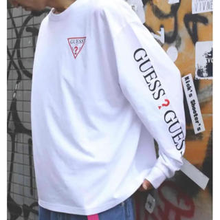 GUESS - WEB限定 Guess×FREAK'S STORE 別注ロンT S