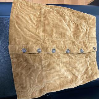 ローリーズファーム(LOWRYS FARM)のベロアスカート(ひざ丈スカート)