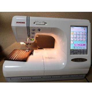 中古 ジャノメ 刺繍ミシン スーパーセシオpc 9600