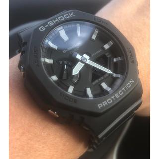 ジーショック(G-SHOCK)の【ちょいレア】G-SHOCK GA-2100-1AJF カシオーク(腕時計(デジタル))