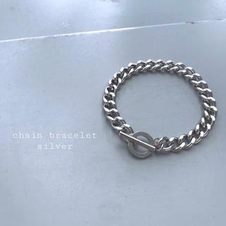 トーガ(TOGA)の再入荷 chain bracelet silver ②(ブレスレット/バングル)