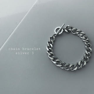 トーガ(TOGA)の再入荷 chain bracelet silver ③(ブレスレット/バングル)