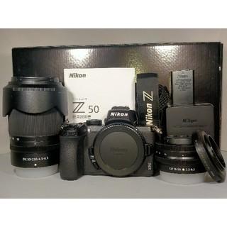 Nikon - 【1308ショット】Nikon Z50 ダブルズームキット ミラーレスzマウント