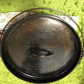 ユニフレーム(UNIFLAME)の専用 ユニフレーム  ダッチオーブン  12インチ(調理器具)