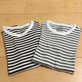 MUJI (無印良品) - セット価格★無印 XS 汗じみしにくいフライス編みクールネックTシャツ