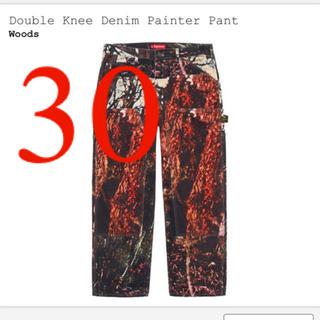 シュプリーム(Supreme)の30 supreme double knee denim pant(ペインターパンツ)