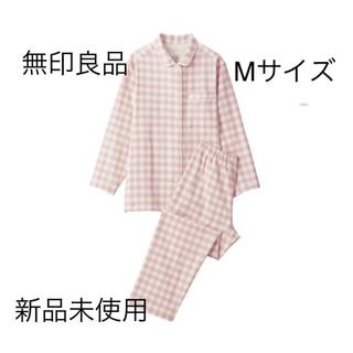 MUJI (無印良品) - 無印良品 脇に縫い目のないフランネルパジャマ M