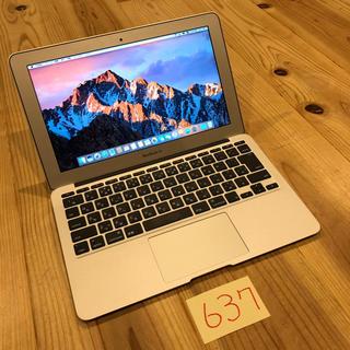 マック(Mac (Apple))の美品!フルカスタム MacBook air 11インチ mid2011(ノートPC)