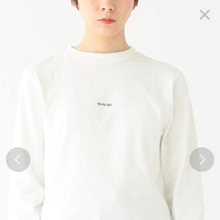 BEAMS BOY - BEAMS BOY ミニロゴ ロングスリーブTシャツ